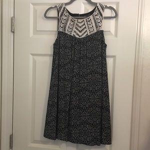 As U Wish Beaded With Lace Sleeveless Dress